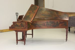 Erard Grand Piano Comes in for Restoration